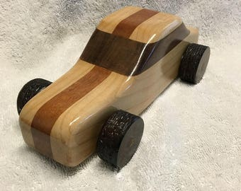 Wooden Toy Car #1
