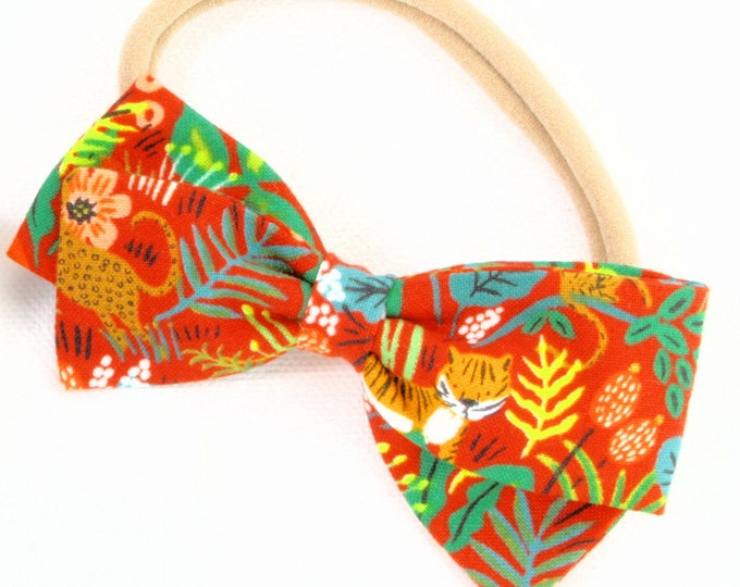 Jungle Girl - Headbands for Girls - Clip, Barrettes, or Nylon Headband