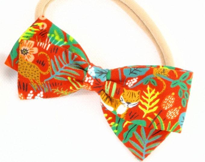 Jungle Girl - Headbands for Girls - Clip, Barrettes, or Nylon Headband