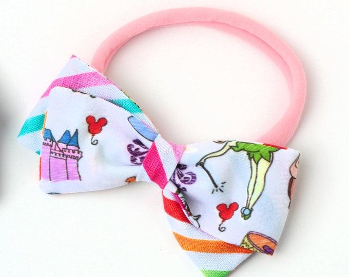 Disneyland Bow - Disney Hair Bows for Girls