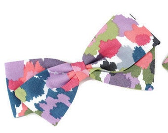 Watercolor Bow - Colorful Bows - Bows for girls