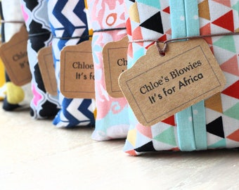 Chloe's Blowies- It's for Africa! Tissue holders.