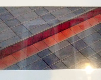 Signed - Limited Edition - Photography Print Michael John - Colorado Photographer - Artist - Abstract Image of Tile Step - Colorful