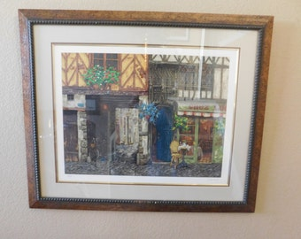 40% OFF Fine Art - Very Rare Viktor Shvaiko Limited Edition (31/80) Serigraph with Frame with Authenticity on back  Rare!
