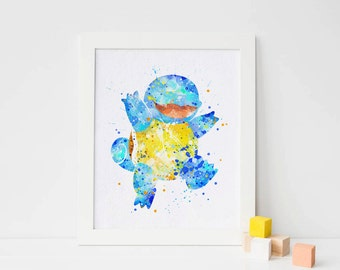 picture relating to Pokemon Posters Printable called Pokemon poster Etsy