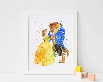 Beauty and the beast wedding, beauty and the beast party, beauty and beast, disney beauty beast print, the beast poster, the beast wall art