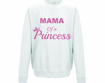 Items similar to MAMA EMBROIDERED SWEATSHIRT~mommy and me sweatshirt
