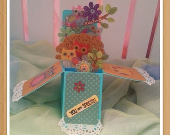 Pop-Up Greeting Card - Owl always be there for you
