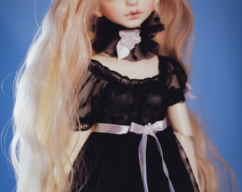 Dress and choker for Minifee, Dollzone MSD 1/4 BJD