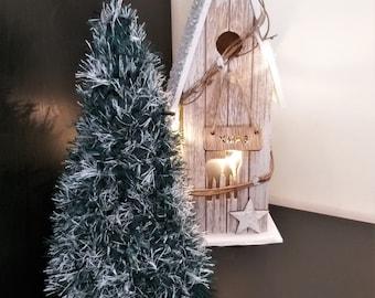 Table Xmas tree, Crochet Christmas tree, Mantel decor, Amigurumi tree, Christmas decor, Xmas ornament, holiday decorations, Xmas centerpiece