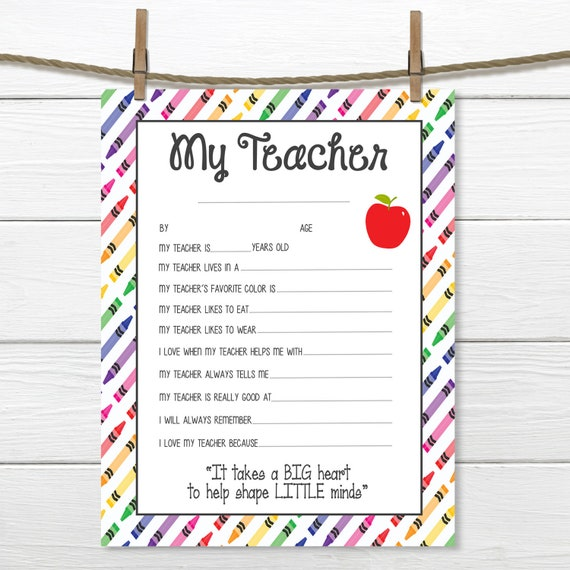 Agile image in all about my teacher free printable