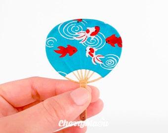 Uchiwa Fan - For Pullip, blythe, bjd, dolls 1/4 and 1/6, 3D printing