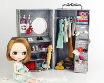 Carrying box for Blythe or doll 1/6