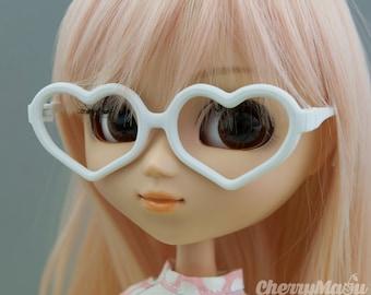 """""""Heart"""" glasses for Pullip doll, 3D print"""