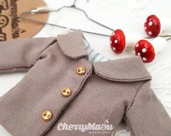 Jacket for Blythe, Pullip, Momoko, Ruruko, Licca, doll 1:6
