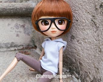 """""""Aviator"""" glasses for Pullip doll, 3D printing"""