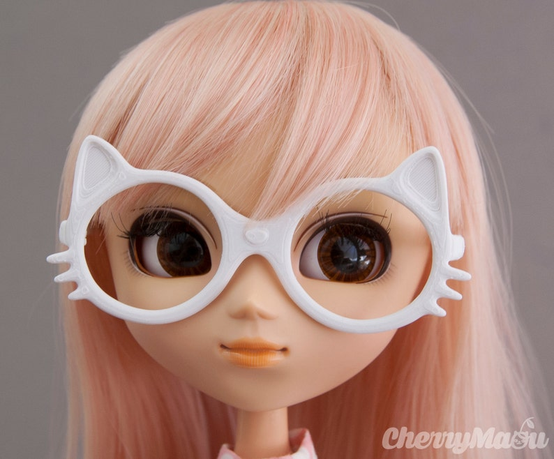 Maou glasses for Pullip doll 3D printing image 0