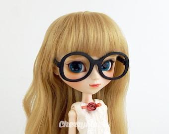 """""""Oversize"""" glasses for Pullip doll, 3D printing"""