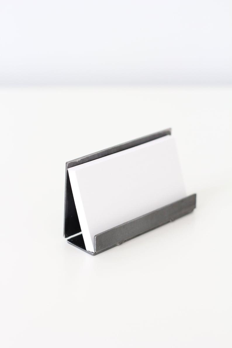 Porte Carte De Visite Metal Moderne Pour Bureau