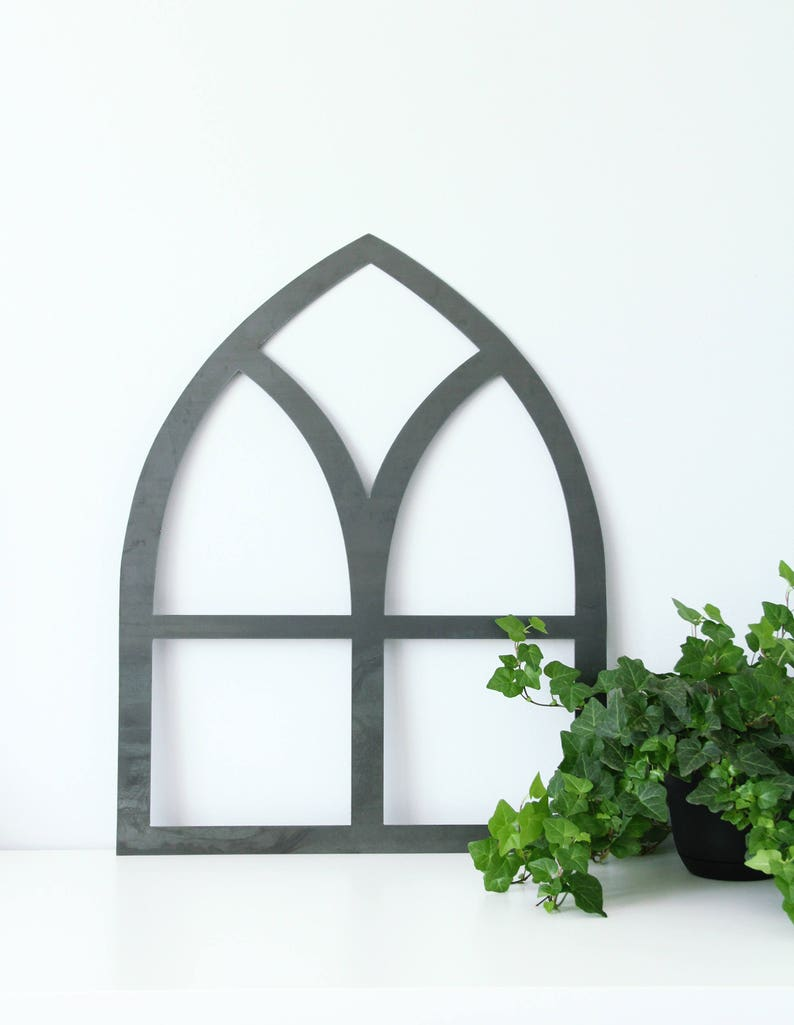faux window rustic farmhouse chic metal wall decor CLEARANCE  Metal Window Frame