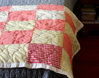 Decke tagesdecke patchwork quilt shabby | Etsy