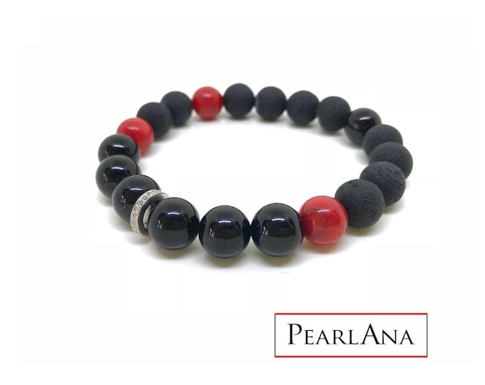 Men diamond bracelet