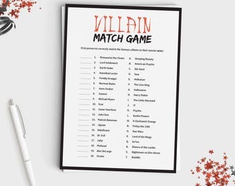 picture relating to Printable Halloween Games Adults known as Halloween Video game for Grown ups or Young adults This or That Entertaining Etsy