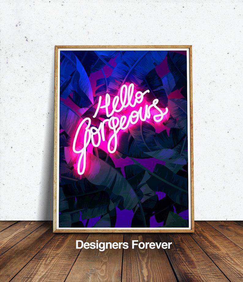 57c8acb82fbb8 Hallo wunderschönen Druck entworfen von Designern für immer