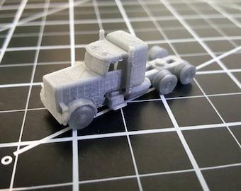 N Scale Peterbilt Semi Tractor Kit