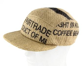 "Umbrella cap ""Café Ristretto""-Fairtrade (Size: L/XL (59-62 cm))"