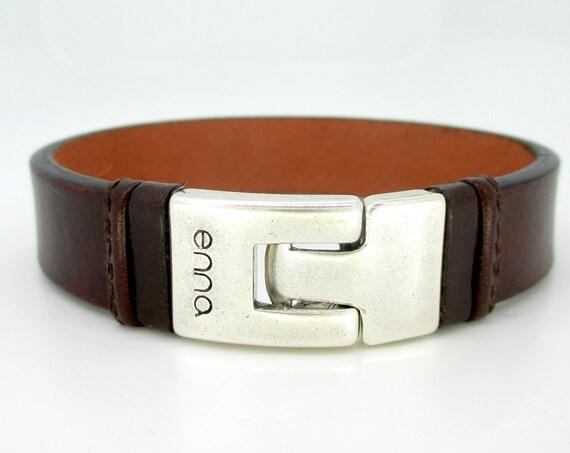 Brown leather bracelet, man bracelet, male style, anniversary gifts, birthday, Christmas
