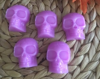 Mini Skull Soaps ,Mini Ghost Soaps, Halloween Soaps,Party Favors,Guest Soap