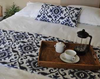 Bed Scarf & Pillow EASTERN BLUE