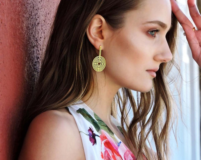 Labyrinth 360ᵒ Earrings