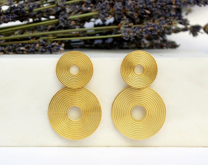 Double spiral Earrings