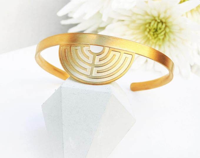 Labyrinth 180ᵒ Bracelet