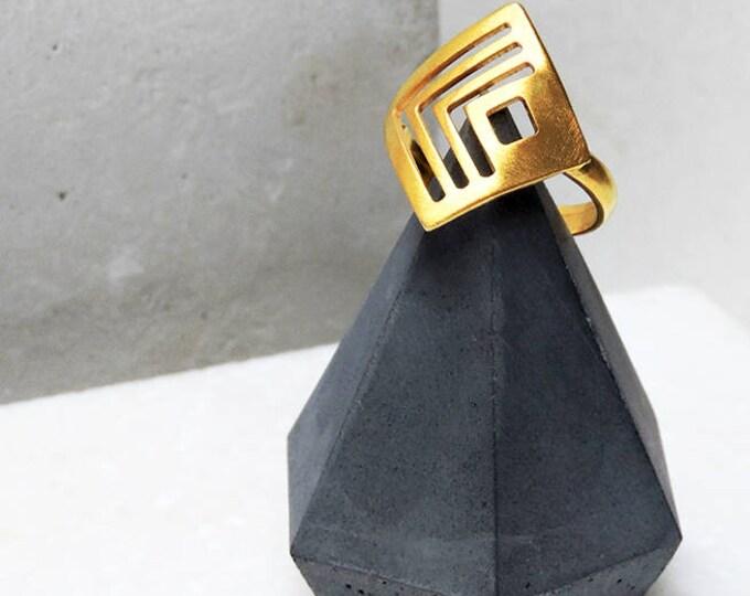 Tiny Fractal Ring