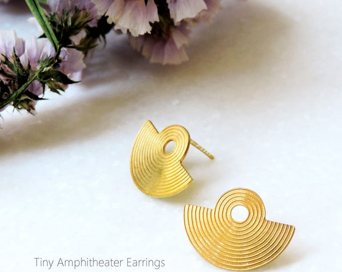 Τiny Amphitheater Earrings