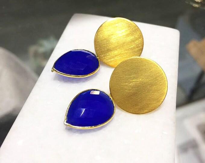 Blue Chalcedony Stones
