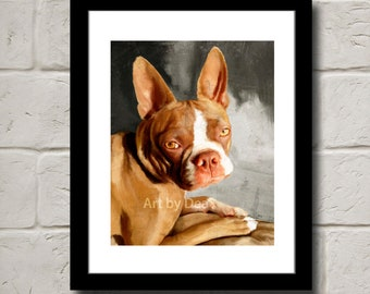 """Look Into My Eyes - Fine Art Print 8""""x10"""" Signed"""