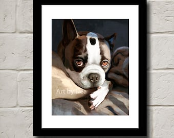 Boston Eyes - Fine Art Print