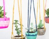 Concrete Pot – Hanging planter - Plant Hanger – Concrete Planter – Botanical Gift – Gardening Gift - Mothers day Gift - Mom Gift