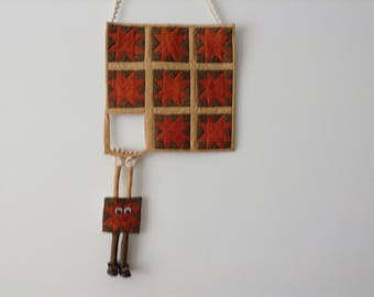 The Great Escape!  Quilted Wallhanging Spring  SALE  Now only  35.00 euros