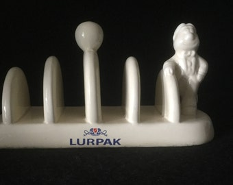Vintage Lurpak toast rack featuring Douglas circa 1980 / Toast rack / Danish Butter / Douglas / Breakfast table / Collectable