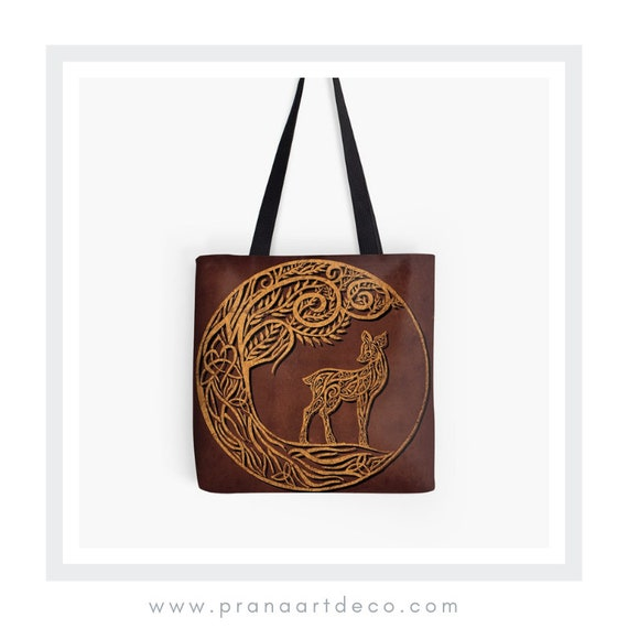Eilid Celtic Deer Symbol Of Unconditional Love And Etsy