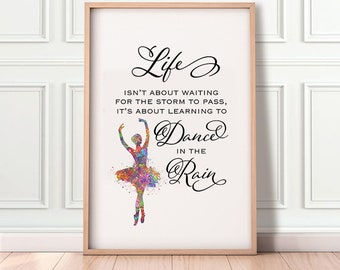 Dance quotes | Etsy