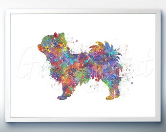 Chihuahua Dog Watercolor Art Print  - Chihuahua Watercolor Art Painting - Chihuahua Poster - Home Decor - House Warming Gift