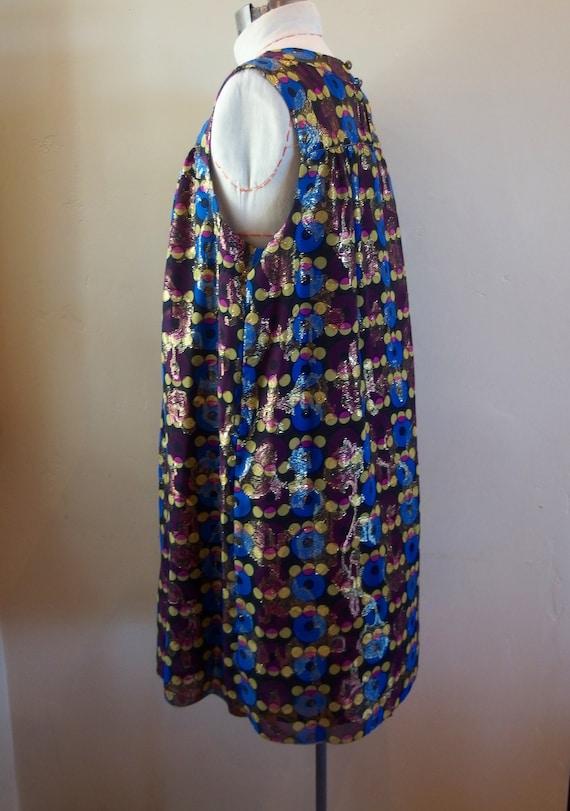 Vintage Anna Sui Designer Cocktail Dress Shift - image 6