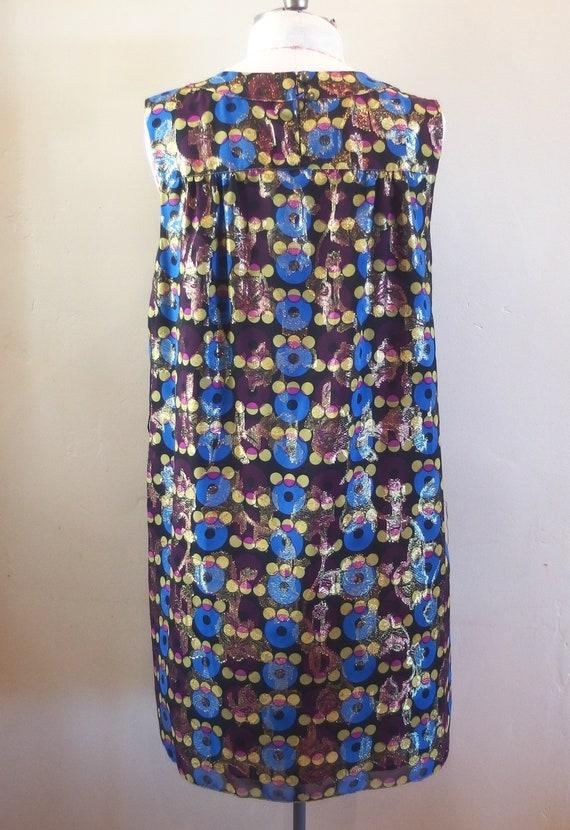 Vintage Anna Sui Designer Cocktail Dress Shift - image 4
