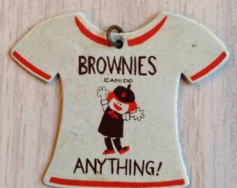 Vintage Brownie Pendant